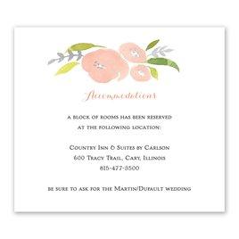 Information Card: Garden Halo Foil Information Card