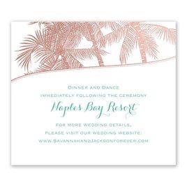 Beach: Malibu I Do Foil Information Card
