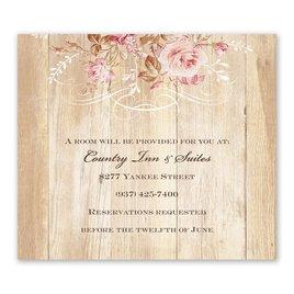 Rustic Romance - Information Card