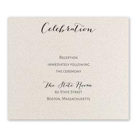 Total Elegance - Reception Card