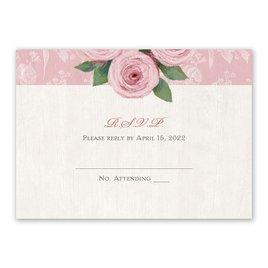 Victorian Rose - Response Card