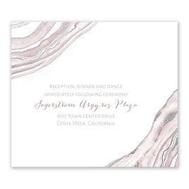 Gold: Modern Marble Foil Information Card