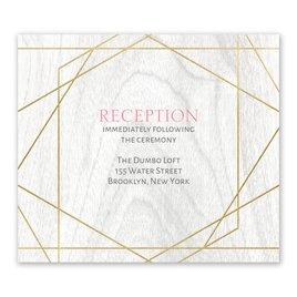 Naturally Modern - Gold - Foil Information Card