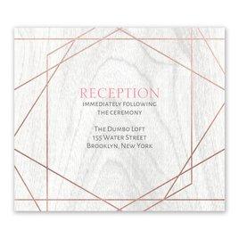 Naturally Modern - Rose Gold - Foil Information Card