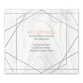 Naturally Modern - Silver - Foil Information Card