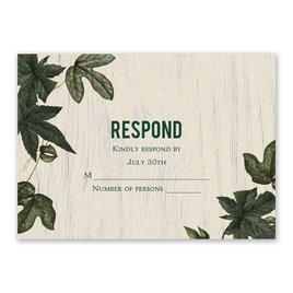 Climbing Vines - Response Card
