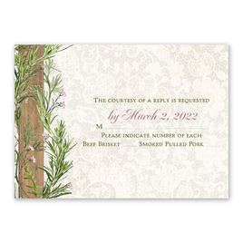 Country Charm - Response Card