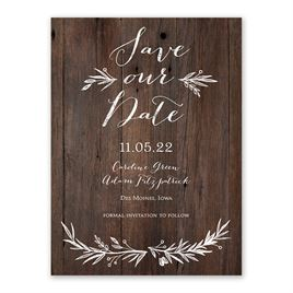 Sweetly Sketched - Save the Date Card