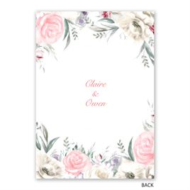 Pale Roses - Gold - Foil Invitation