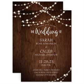 78f10b5806f Rustic Celebration - Invitation