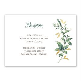 Vintage Botanical Foil Invitation | Invitations By Dawn