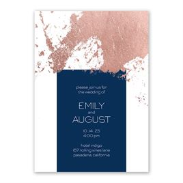 Style Splash - Rose Gold - Foil Invitation