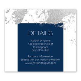 Style Splash - Silver - Foil Information Card