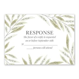 Autumn/Fall: Ruscus Frame Response Card