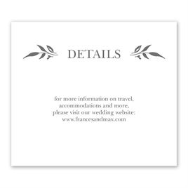 Sweet Surround - Information Card