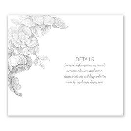 Gilded Garden - Silver - Foil Information Card