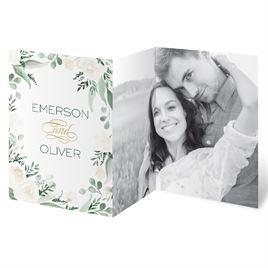 Floral Dream Trifold Invitation