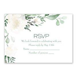 Wedding Response Cards: Floral Dream Response Card