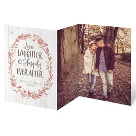 Love and Laughter Trifold Invitation