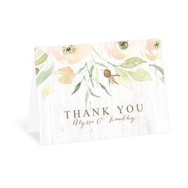 Fresh Floral - Thank You Card
