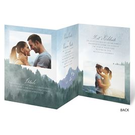 Mountain Pine - Trifold Invitation