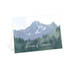 Mountain: Mountain Pine Thank You Card