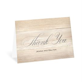 Our Happy - Silver - Foil Thank You Card