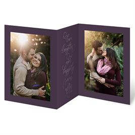 Ever After Silver - Foil Trifold Invitation