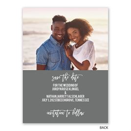 My Heart - Save the Date Card