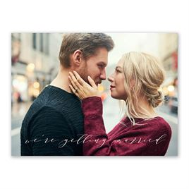 Sweet News -  Save the Date Card