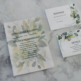 Breathless - Layered Vellum Wedding Invitation