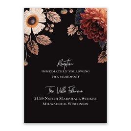 Abundant Blooms - Reception Card