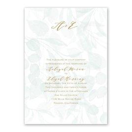Verdant - Layered Vellum Invitation