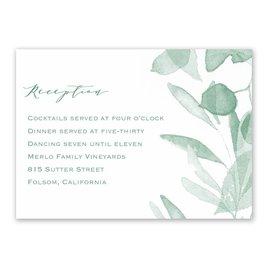 Verdant - Reception Card