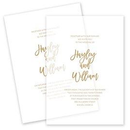Wedding Invitations: Allure Vellum Invitation