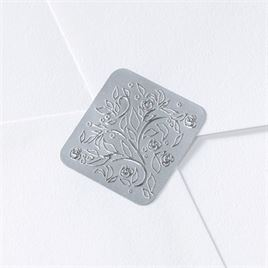 Silver Filigree Seal