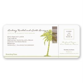 Destination Wedding Invitations: 