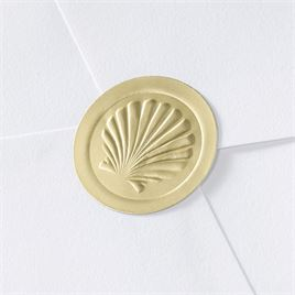 Blank Embossed Shell Seal