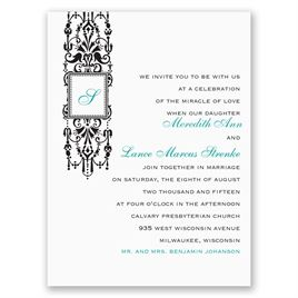 Petite Wedding Invitations: 