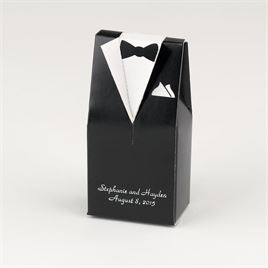 Black Tux Favor Boxes