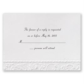 Wedding Response Cards | Invitations By Dawn