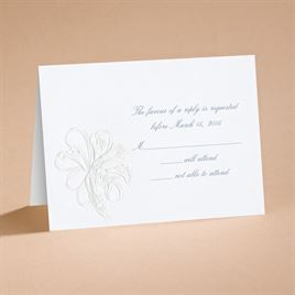 Lovely - Respond Card and Envelope