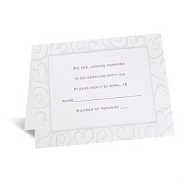 Pure Romance - Respond Card and Envelope