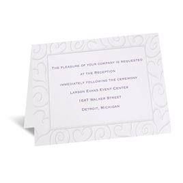Pure Romance - Reception Card