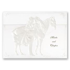 Pearl Wedding Invitations: 