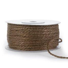 Jute Cord - Chocolate - 50yd spool