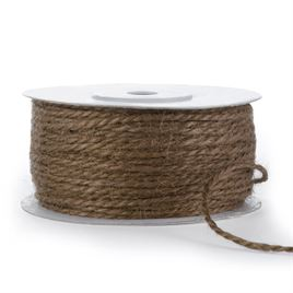 Jute Cord - Chocolate - 50yd spool
