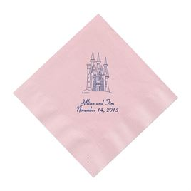 Blue Wedding Napkins: 