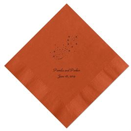 Cinderella - Spice Dinner Napkins in Foil