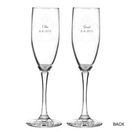 Disney - Dreams Comes True Toasting Flutes - Cinderella
